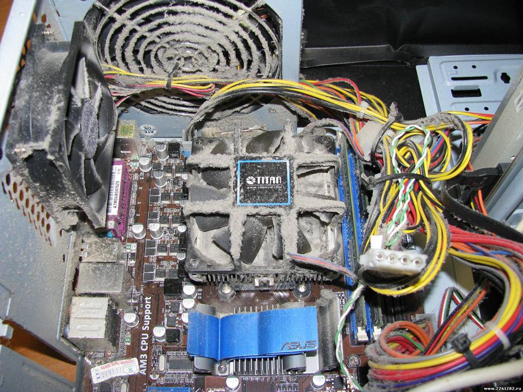 Компьютер перезагружается при загрузке Windows